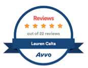 avvo reviews lauren calta