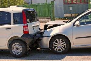 rear-end car collision