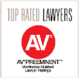 top rated lawyers AV preeminent